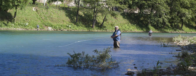 fly fishing neretva